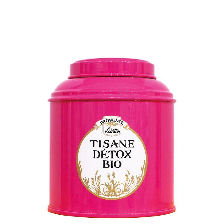 TISANE DETOX BIO BM VRAC 90 G - PROVENCE D'ANTAN