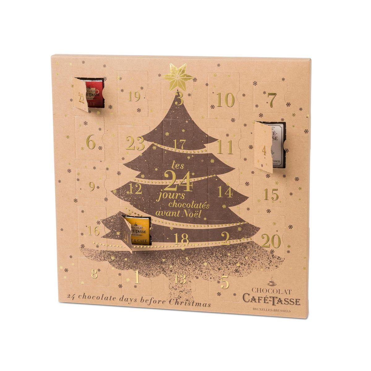 Calendrier avent 2019 chocolat édition limitée - Cafetasse