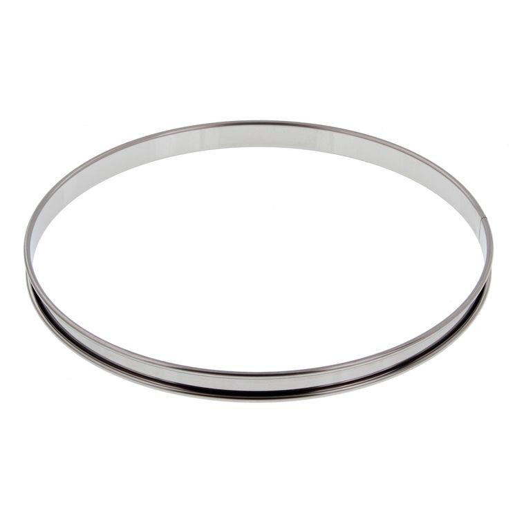 Cercle à tarte inox 24 cm - De Buyer