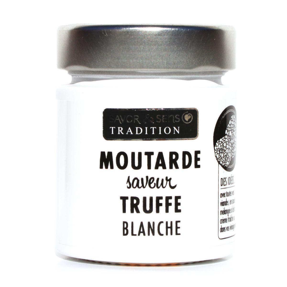 MOUTARDE SAVEUR TRUFFE BLANCHE - SAVOR ET SENS
