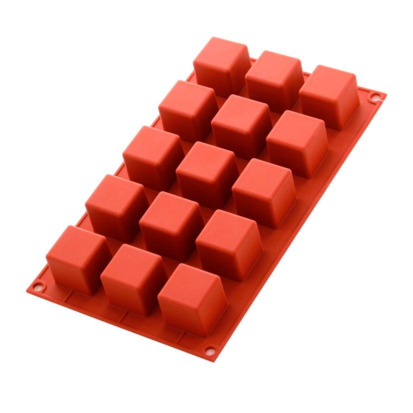 Moule en silicone 15 mini-cubes - Silikomart