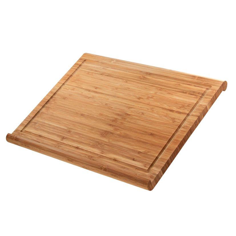 Planche de travail bambou 48 x 38 x 3 cm - Zeller