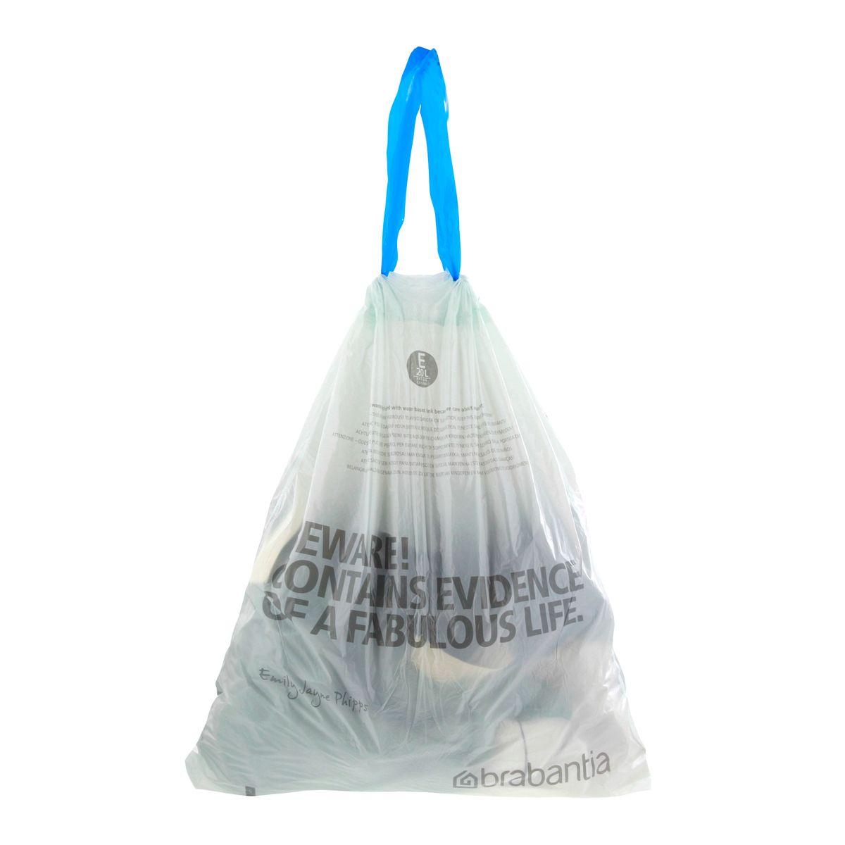 20 sacs-poubelle 20l - Brabantia
