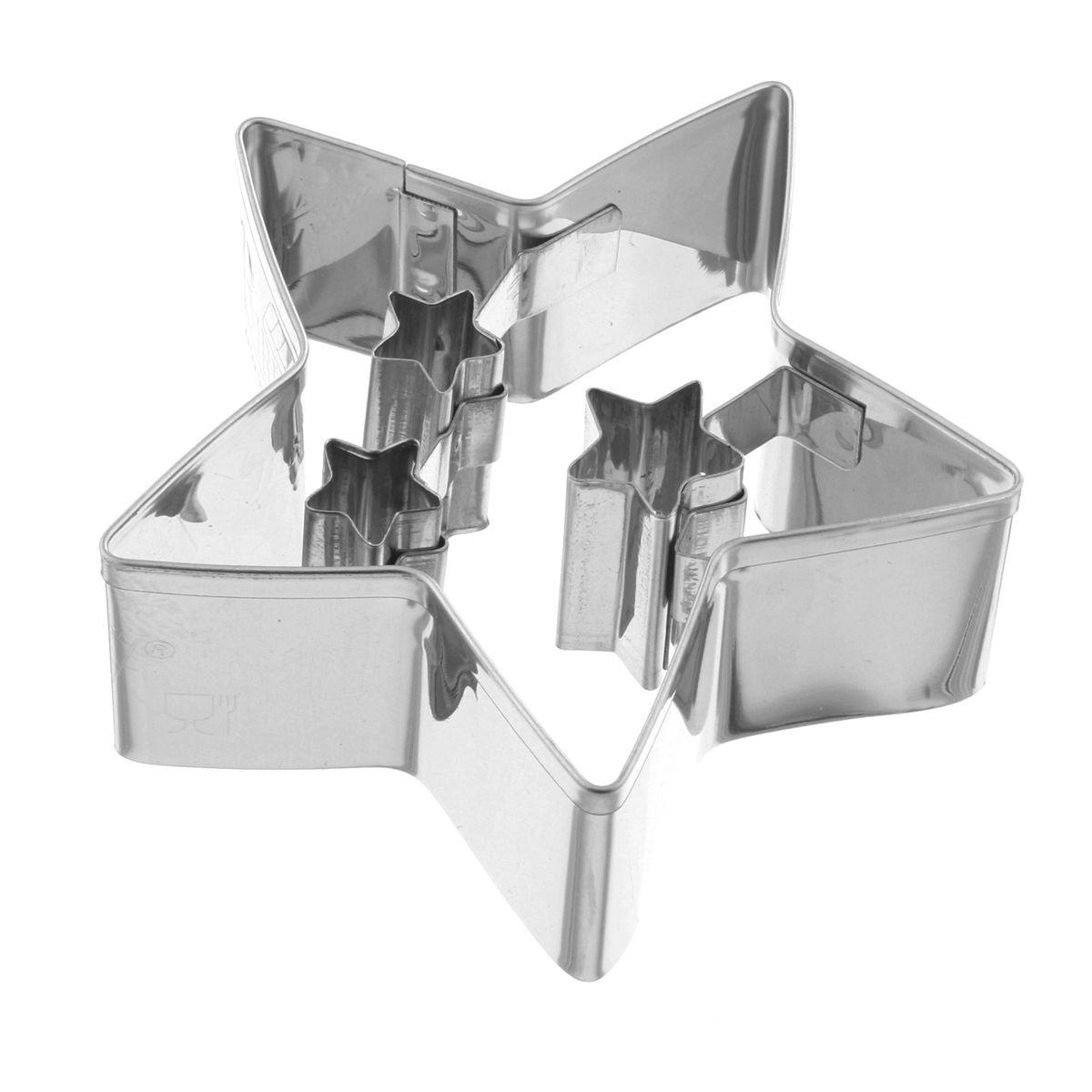 Emporte pièce 3 étoiles 6.5 cm - Birkmann