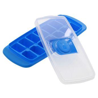 Achat en ligne Bac à glaçons avec couvercle bleu - Joie