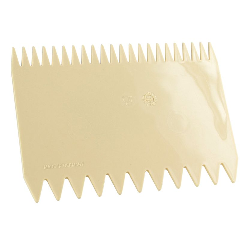 Corne/peigne à décor 2 côtés en plastique - Matfer