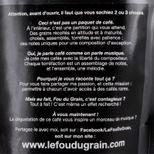 Café moulu pour cafetière italienne Virtuose Accord n°13 250gr - Le Fou du Grain