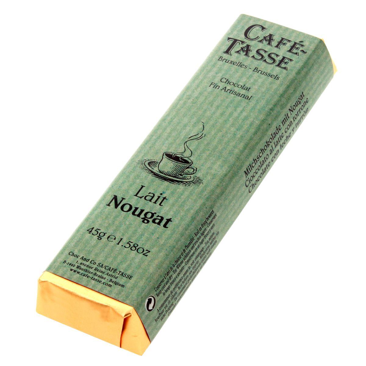 Bâton assorti goût lait nougat - Cafetasse