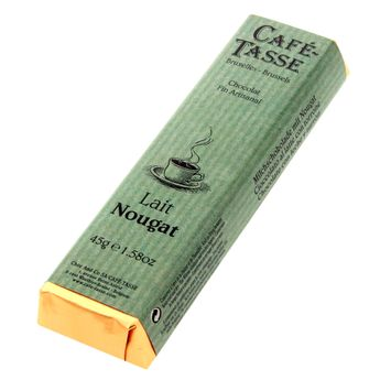 Achat en ligne Bâton assorti goût lait nougat 45gr - Cafetasse