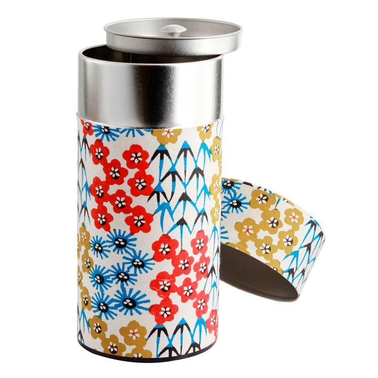 Boîte à thé 200g 7.5x15.5 cm Hanami - Bastide Diffusion