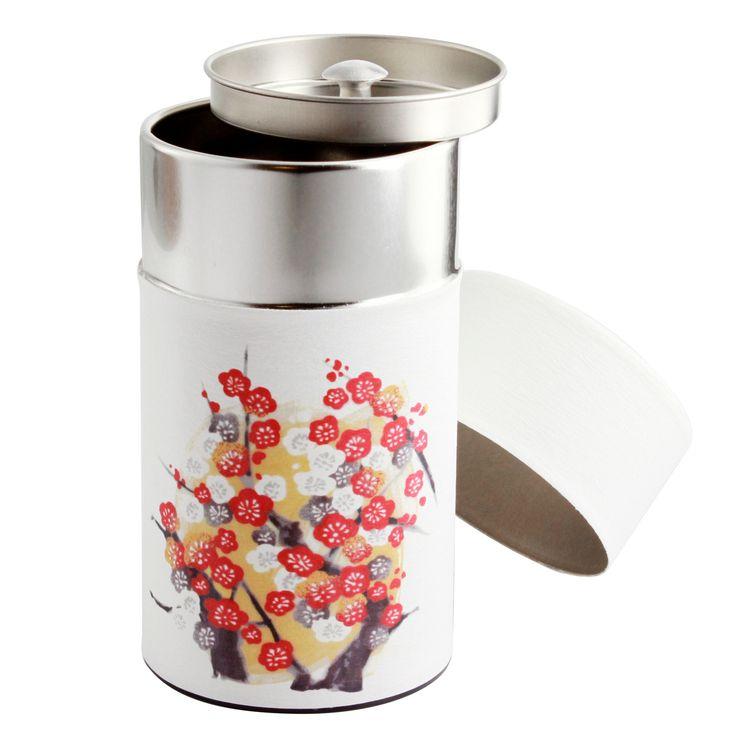 Boîte thé 150g 6.5x12.5 cm Kiku - Bastide Diffusion