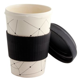 MUG NOMADE EN FIBRE DE BAMBOU GRAPHIC 500ML - POINT VIRGULE