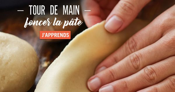 (Format E) Tour de main - Je réalise ma pâte brisée