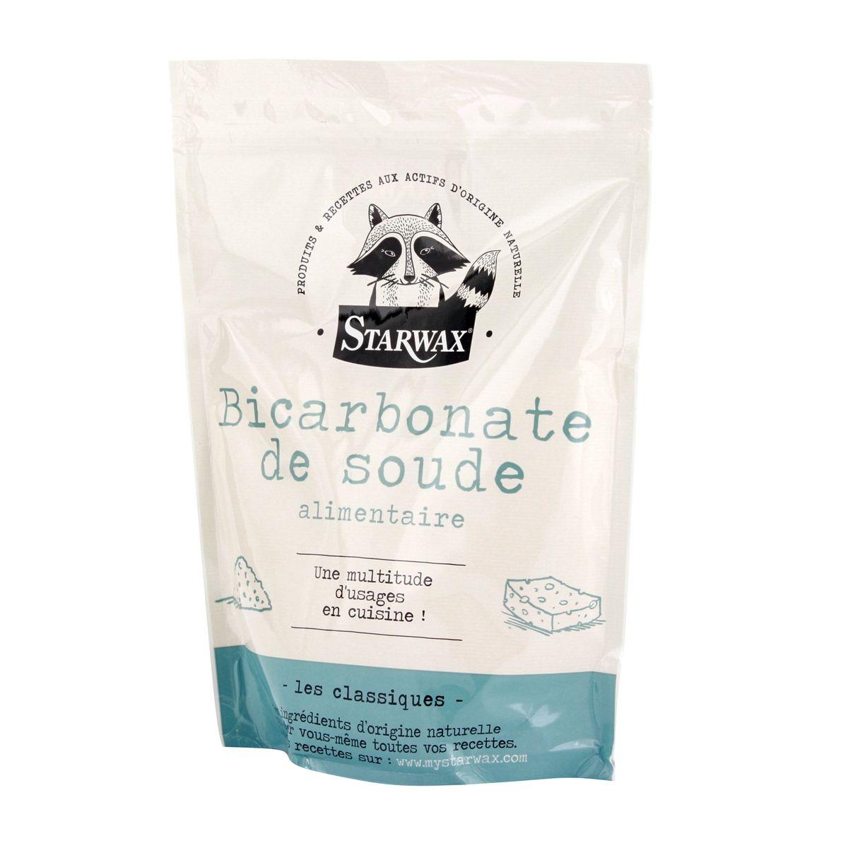 Sachet bicarbonate de soude alimentaire 1kg - Starwax