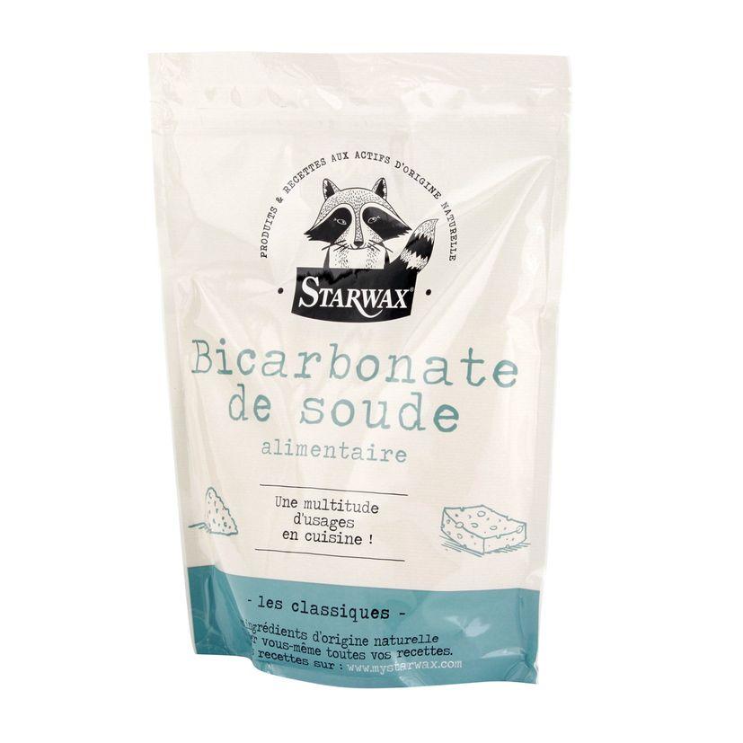 Bicarbonate de soude alimentaire 1kg - Starwax