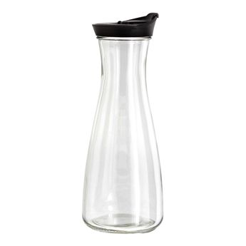 Bouteille en verre bouchon gris, vert, blanc ou noir 900ml - Zeller