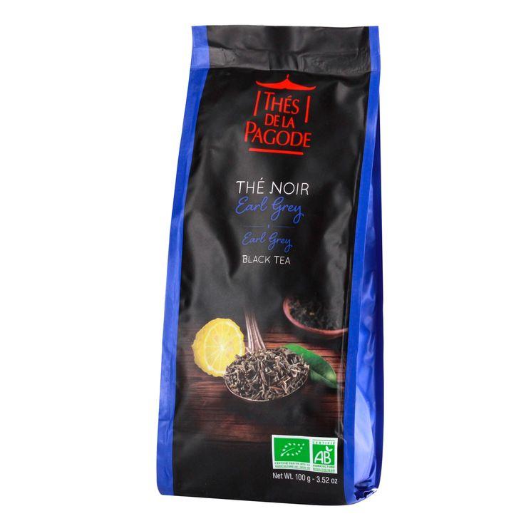 Thé noir bio Earl Grey 100gr - Thés de la Pagode