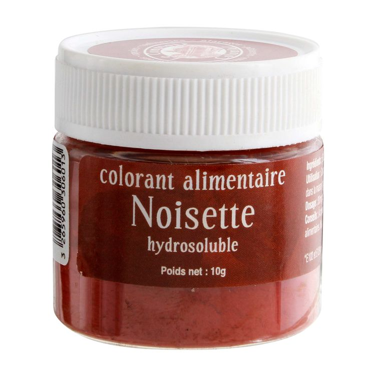 Colorant alimentaire hydrosoluble 10gr noisette - Le Comptoir Colonial
