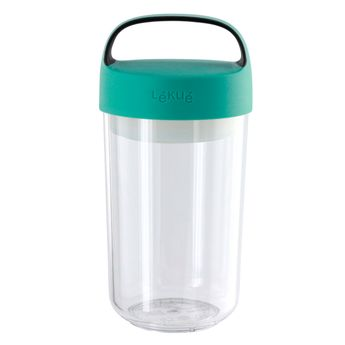 Jar to go turquoise 600 ml - Lékué