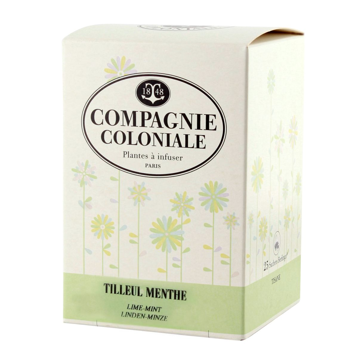 INFUSION TILLEUL MENTHE - COMPAGNIE COLONIALE