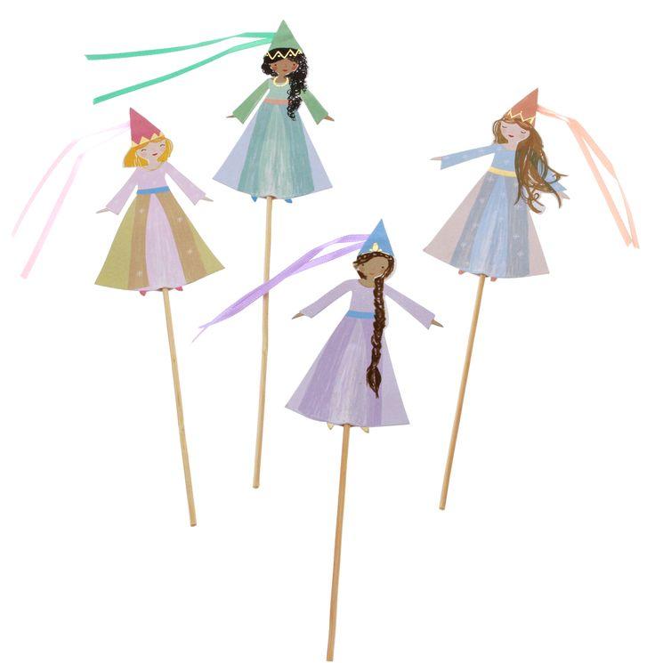 Cake topper princesse - Meri Meri