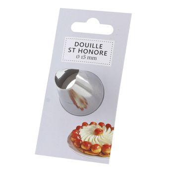 Douille inox saint-honoré 15 mm