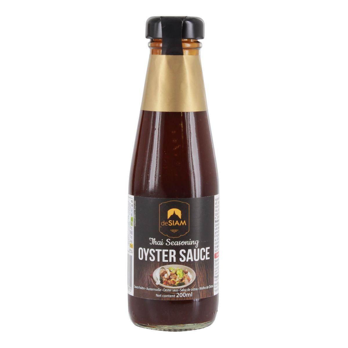 Oyster sauce - De Siam