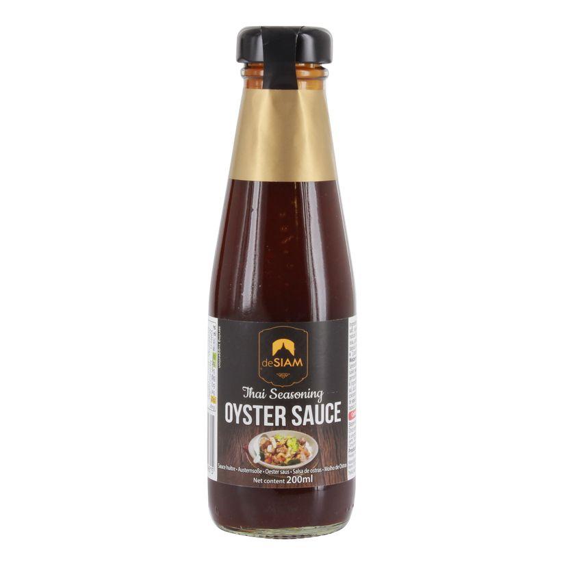 Oyster sauce 200ml - De Siam