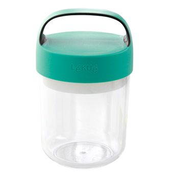 Jar to go turquoise 400 ml - Lékué