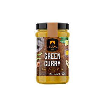 Pâte de curry vert 100 gr - De Siam