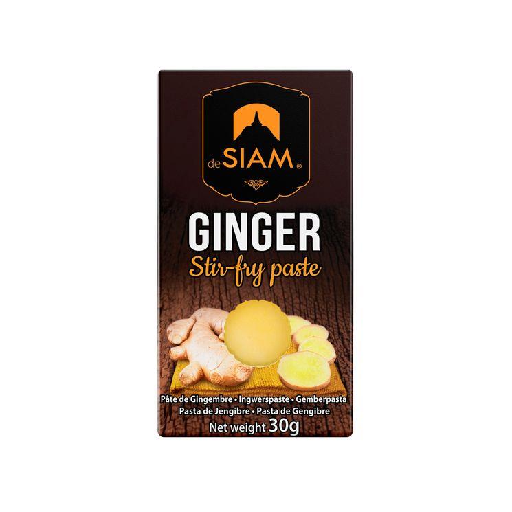 Pâte de gingembre 30 gr - De Siam