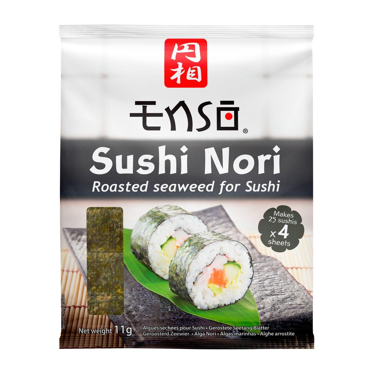 Feuille de nori pour Sushi 11gr - Enso