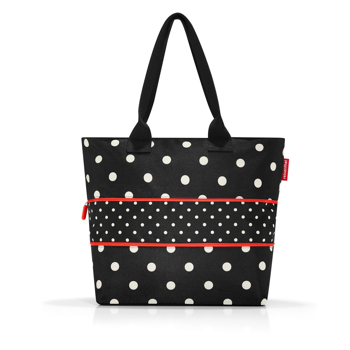 Sac shopper extensible Mixed Dots - Reisenthel