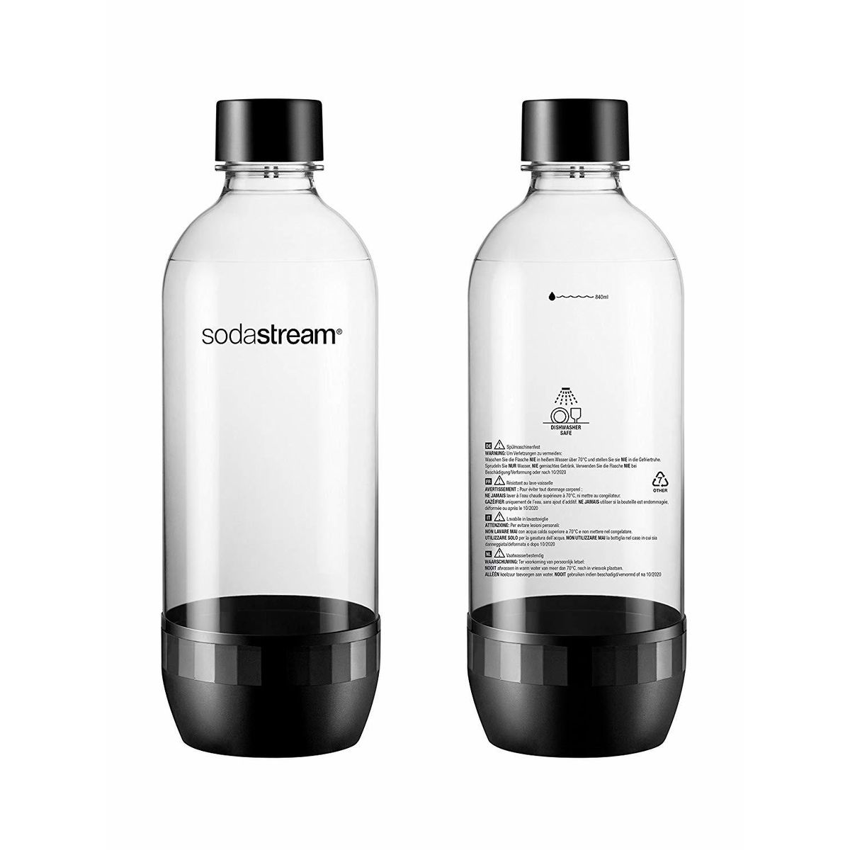 Pack 2 bouteilles 1L - Sodastream