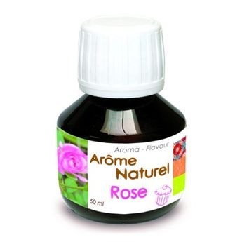 AROME NATUREL DE ROSE 50ML - SCRAPCOOKING
