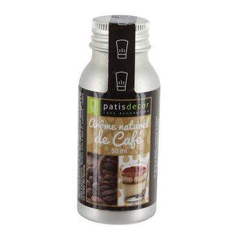 Arôme alimentaire naturel café 50 ml - Patisdecor