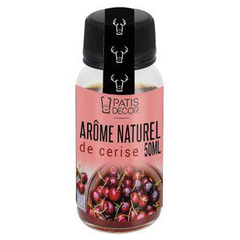 Achat en ligne Arôme alimentaire naturel cerise 50 ml - Patisdecor