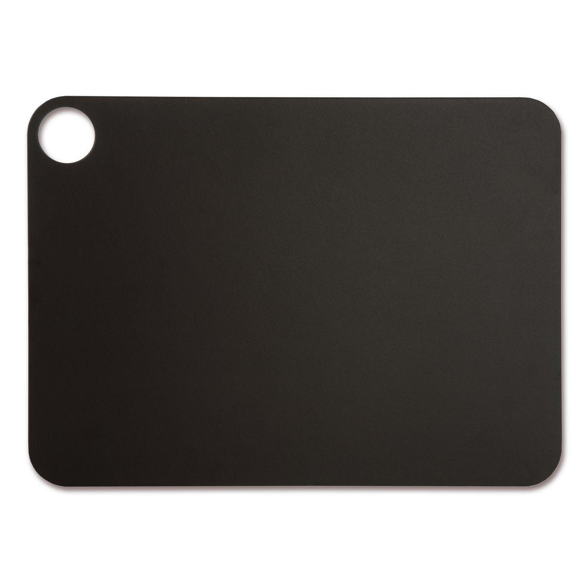 Planche à découper noire en papier compressé 37.7 x 27.7 cm - Arcos