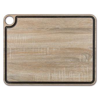 Achat en ligne Planche à découper effet bois en papier compressé avec rigole 42.7 x 32.7 cm - Arcos