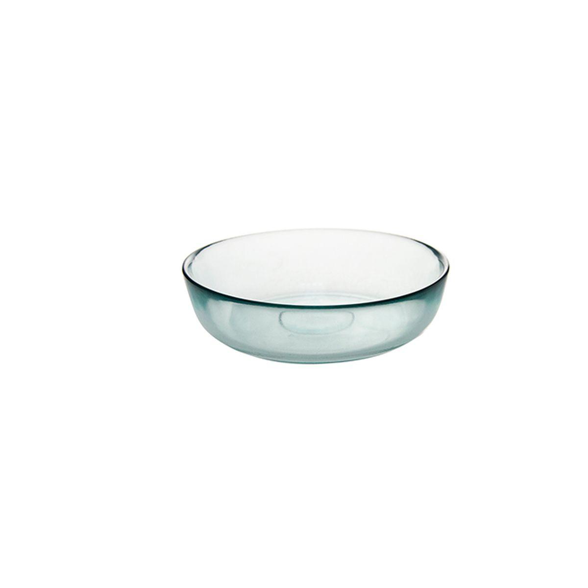 Saladier en verre recyclé 20cm - Vidrios