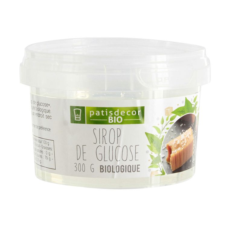 Sirop de glucose bio 300gr - Patisdecor Bio