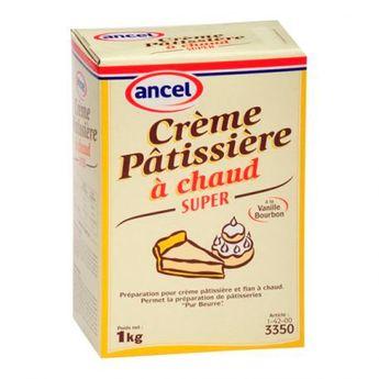 Crème pâtissière à chaud Super 1kg - Ancel
