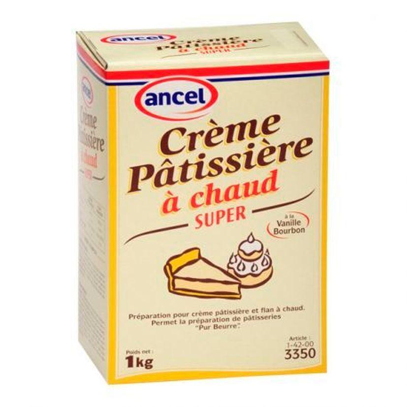 Préparation crème pâtissière à chaud Super 1kg - Ancel