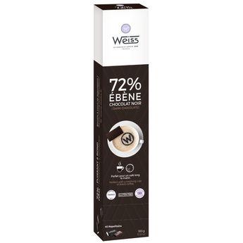 Ebene réglette chocaf 180g - Weiss