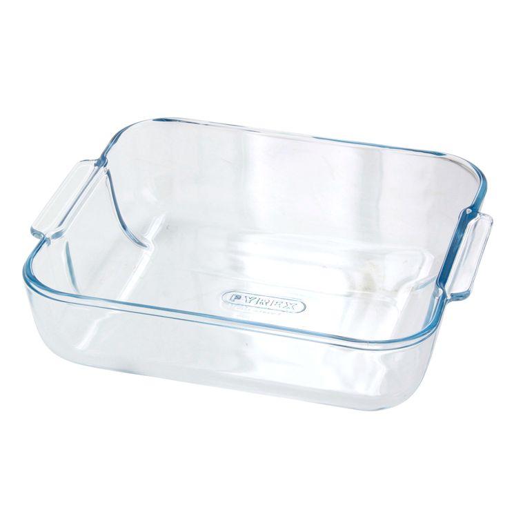 Plat à four en verre 25 x 21 cm-  Pyrex