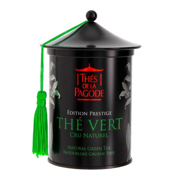 Thé vert fruit cru naturel Gunpowder bio édition prestige - Thés de la Pagode