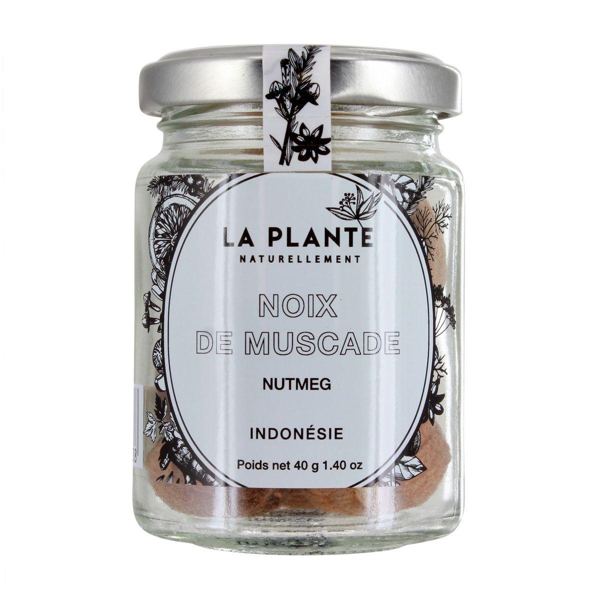 Noix de muscade BIO 40g - La Plante