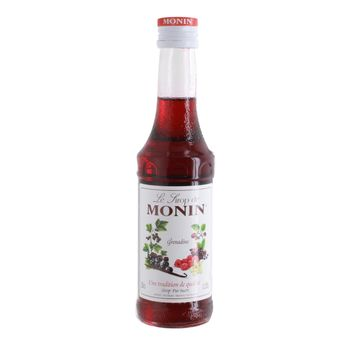 Achat en ligne Sirop grenadine 25cl - Monin