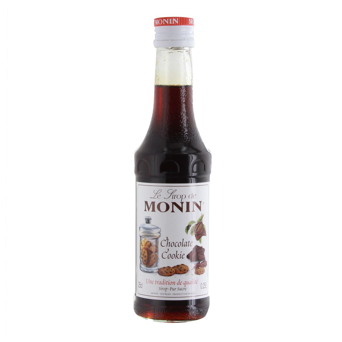 Sirop 25 cl chocolat cookie - Monin