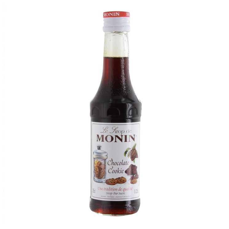 Sirop chocolat cookie 25 cl - Monin